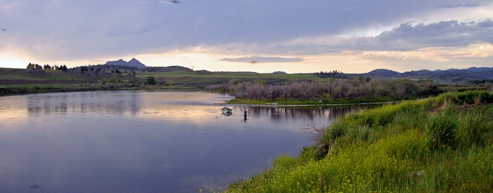 Missouri River, Fly Fishing
